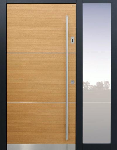 21B-B9-T1-Eiche-1-mit-Seitenteil-B1-Optionen-Edelstahllisenen-und-Klarglaslinien-400x516