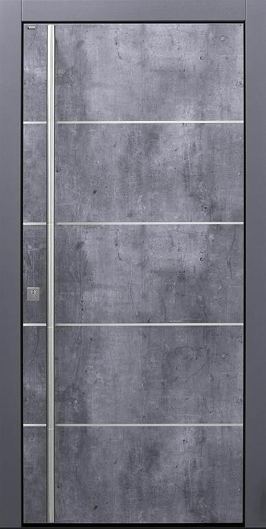 86A-B9-T1-Exterior-Skyline-Optionen-Edelstahllisenen-flächenbündige-Rosette-Stoßgriffrillen-auf-Kundenwunsch
